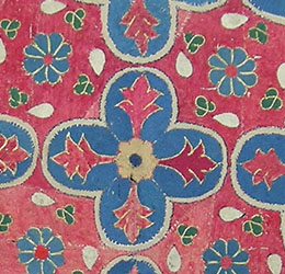 Code;6063 Central Asia,Bukhara region,acceptable condition,Silk work on cotton base