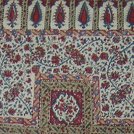 Code;6064 Persian print work,good condition,cotton base,original sides