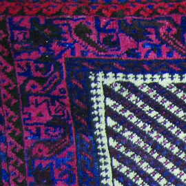 Code;4066 North East of Iran,Khorasan area,Balouch tribal,Pair moharrmat ,wool on wool,full pile,all natural colors